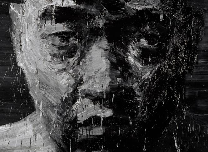 """""""Yan Pei-Ming"""" Au nom du père, au Musée Unterlinden, Colmar, du 02 avril au 06 septembre 2021"""
