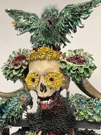 Etienne Pottier, Les derniers jours de Pompéi. Exposition Galerie LJ, Paris, 2021.