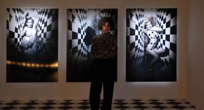 PODCAST -Interview de Claire Hoffmann, responsable de la programmation arts visuels du Centre culturel suisse et commissaire de l'exposition, par Anne-Frédérique Fer, à Paris, le 7 mai 2021, durée 13'33. © FranceFineArt.