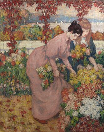 Georges d'Espagnat, Après-midi d'automne, c. 1899. Huile sur toile, Collection particulière, Photo Archives Durand-Ruel, © Durand-Ruel & Cie.