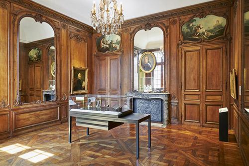Salle dédiée aux Lumières, musée Carnavalet - Histoire de Paris. © Pierre Antoine.