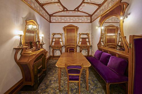 Café de Paris, musée Carnavalet - Histoire de Paris. © Pierre Antoine.