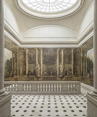 Escalier de Luynes, musée Carnavalet - Histoire de Paris. © Cyrille Weiner.