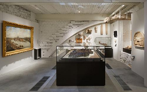 Collections de l'époque médiévale, espace Ile de la Cité, musée Carnavalet - Histoire de Paris. © Antoine Mercusot.