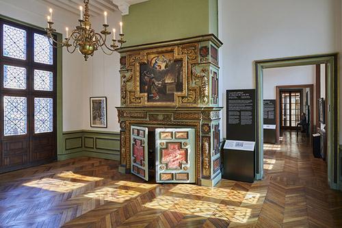 Salle des Echevins, musée Carnavalet - Histoire de Paris. © Pierre Antoine.