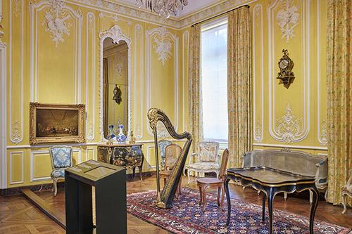 Salon de musique, musée Carnavalet - Histoire de Paris. © Pierre Antoine.