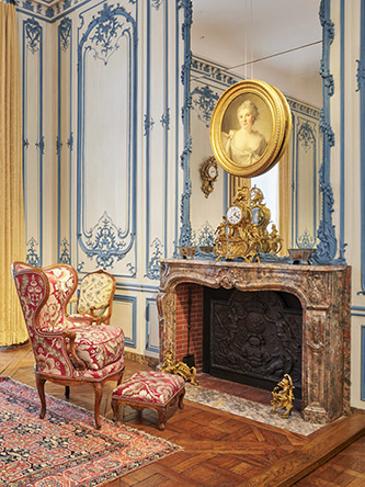 Period room, musée Carnavalet - Histoire de Paris. © Pierre Antoine.