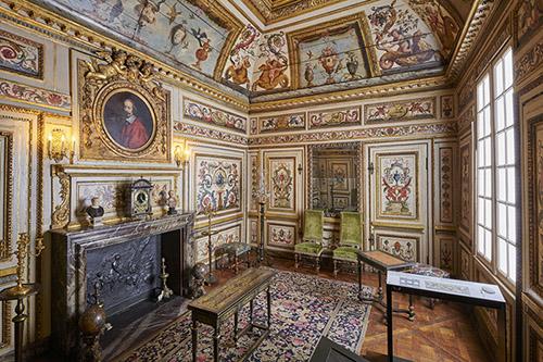 Cabinet Colbert de Villacerf, musée Carnavalet - Histoire de Paris. © Pierre Antoine.