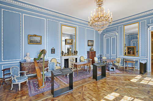 Salon de l'hôtel de Breteuil, musée Carnavalet - Histoire de Paris. © Pierre Antoine.