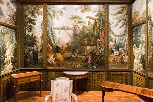Salon Demarteau après restauration, musée Carnavalet - Histoire de Paris. © Jean-Baptiste Gurliat / Ville de Paris.