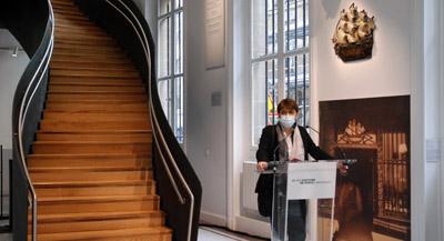 PODCAST -Interview de Valérie Guillaume, Directrice du musée Carnavalet – Histoire de Paris, par Anne-Frédérique Fer, à Paris, le 21 mai 2021, durée 13'34. © FranceFineArt