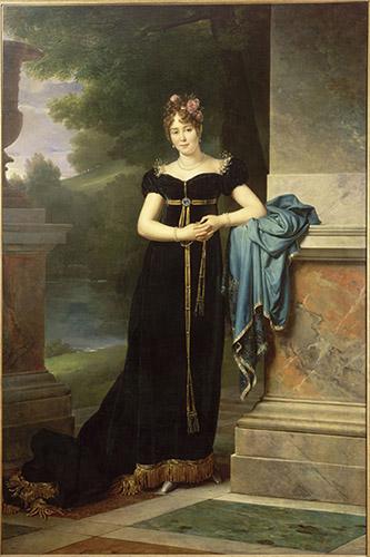 François Gérard, Marie Walewska (1789-1817), vers 1810. musée de l'Armée, Paris. © Paris - musée de l'Armée, Dist. Rmn - Grand Palais / Philippe Sébert.