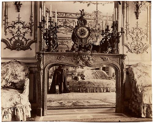 Eugène Atget (1857 – 1927), Ambassade d'Autriche, 57, rue de Varenne, VIIe, 1905. © Paris Musées / musée Carnavalet – Histoire de Paris.