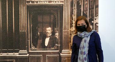 PODCAST -Interview de Anne de Mondenard, responsable du département Photographies et Images numériques, musée Carnavalet – Histoire de Paris, et co-commissaire de l'exposition, par Anne-Frédérique Fer, à Paris, le 1er juin 2021, durée 18'20.© FranceFineArt.