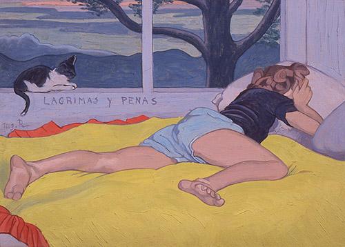 Augustin Rouart, Lagrimas y Penas, 1943. Crédit : Philippe Fuzeau.