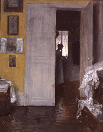 Henry Lerolle, Intérieur, vers 1880. Crédit : Philippe Fuzeau.