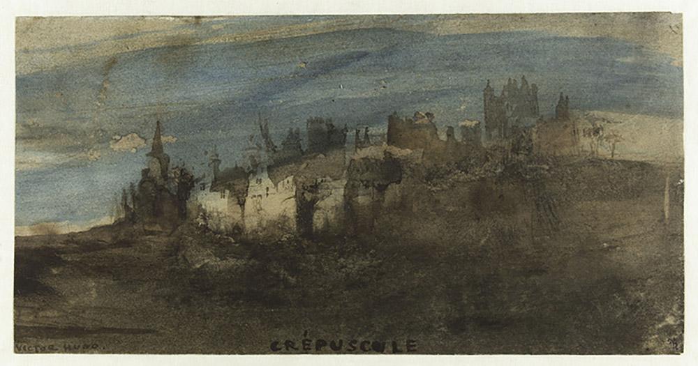 Victor Hugo, Crépuscule, 1854 © Paris Musées / Maisons de Victor Hugo Paris-Guernesey.