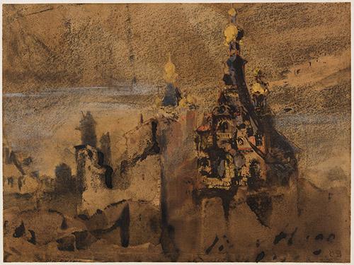 Victor Hugo, Souvenir d'Espagne, 1850 © Paris Musées / Maisons de Victor Hugo Paris-Guernesey.