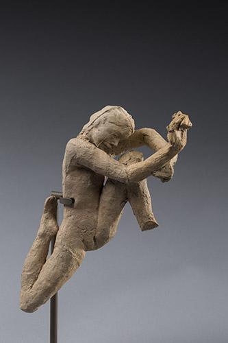 Auguste Rodin, Mouvement de danse, 1911, terre cuite, H. 23,5 x L. 8 x P. 12,5 cm, Paris, Musée Rodin, S.1052. © agence photographique Musée Rodin, Jérome Manoukian.