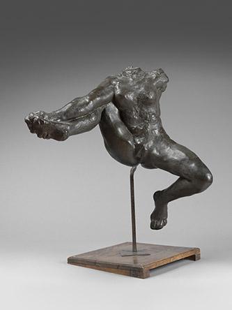 Auguste Rodin, Iris, messagère des dieux, 1895, Paris, H. 82,7 x L. 69 cm, bronze, fonte au sable A. Rudier avant 1916, S.1068, © Musée Rodin, ph. Hervé Lewandowski.