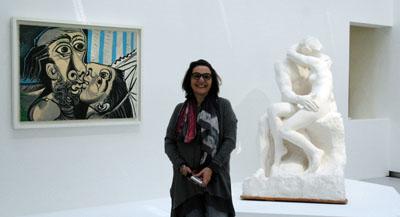 Interview de Véronique Mattiussi, Cheffe du service de la recherche et responsable scientifique du fonds historique - Musée Rodin, et co-commissaire de l'exposition, par Anne-Frédérique Fer, à Paris, le 10 juin 2021, durée 16'00. © FranceFineArt.