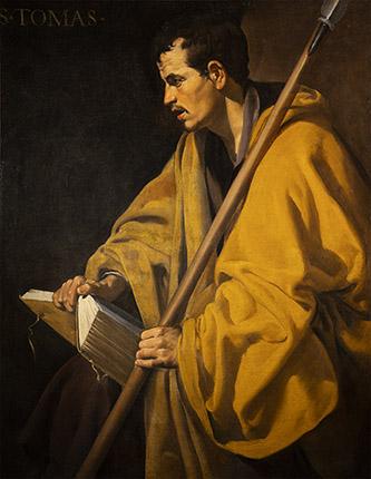 Diego Velázquez, Saint Thomas. Orléans, musée des Beaux-Arts inv. 1556.A, 94 x 73 cm © Gigascope.