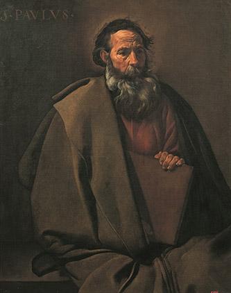 Diego Velázquez, Saint Paul. Barcelone, museu nacional d'Art de Catalunya, inv. MNBAC 024242, 95,5 x 80 cm, © Barcelone, Museu Nacional d'Art de Catalunya, 2012.