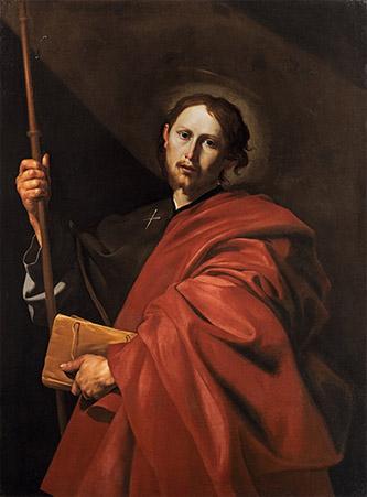Jusepe de Ribera, Saint Jacques le Majeur. Francfort, Städel Museum, inv. 2443, 133,1 x 99,1 cm, © CC BY-SA 4.0 Städel Museum, Frankfurt am Main.