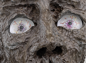 """🔊 """"Jean-Marie Appriou & Marguerite Humeau"""" Surface Horizon, à Lafayette Anticipations – Fondation d'entreprise Galeries Lafayette, Paris, du 17 juin au 5 septembre 2021"""