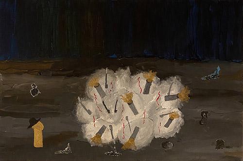 Georges Tony Stoll, Paris Abysse-296, 2020. © Courtoisie de l'artiste et de la Galerie Poggi, Paris / Adagp, Paris 2021.