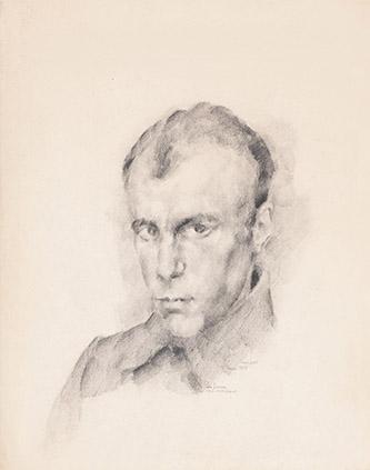 Jean Lurçat, Isola d'Ischia, 1953, gouache sur papier, 52 x 72 cm. Crédits photographiques: © Collection Fondation Jean et Simone Lurçat- Académie des beaux-arts.