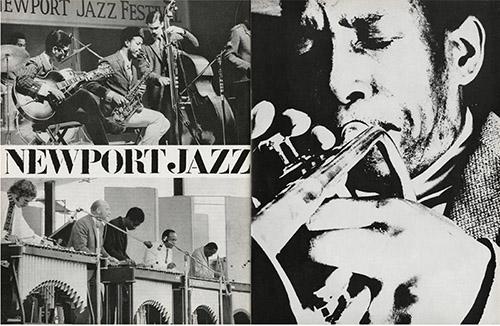 Newport Jazz Festival – Kenny Dorahm, JAZZ MAGAZINE N°145 et N°147. © delpire & co / Jazz Magazine.