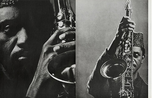 Pharoah Sanders, JAZZ MAGAZINE N°152. © delpire & co / Jazz Magazine.