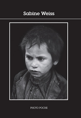 Couverture Sabine Weiss, Collection Photo Poche - Actes Sud, 2021.