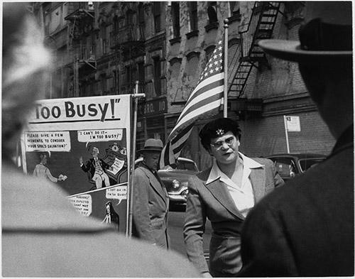 Sabine Weiss, New York, 1955.