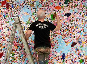 """""""Damien Hirst"""" Cerisiers en Fleurs, à la Fondation Cartier pour l'art contemporain, Paris, du 6 juillet 2021 au 2 janvier 2022"""