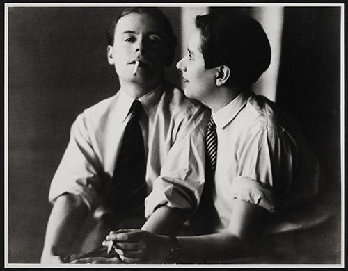 Klaus Mann (1906-1949) et sa soeur Erika Mann (1905-1969). Photo Lotte Jacobi. 1930. Coll. Monacensia im Hildebrandhaus - Literaturarchiv. KM F 295. Avec l'aimable autorisation de Frido Mann.