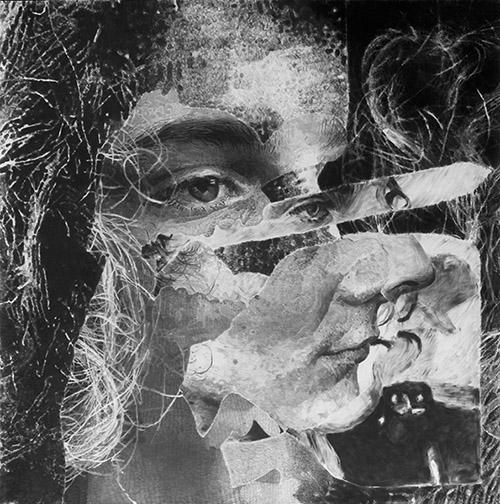 Jérôme Zonder, Étude pour un portrait de Pierre-François #22, 2020. Galerie Nathalie Obadia.
