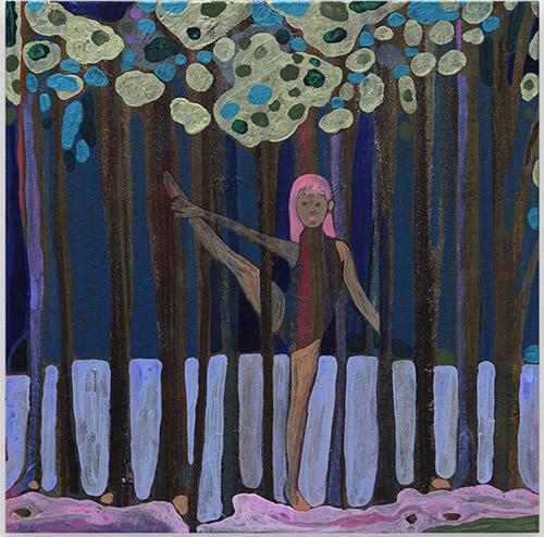 Marcella Barceló, A Forest Dance, 2020. Galerie Anne de Villepoix.