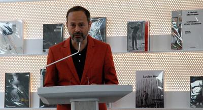 Interview de Quentin Bajac, directeur du Jeu de Paume et co-commissaire de l'exposition, par Anne-Frédérique Fer, à Paris, le 13 septembre 2021, durée 11'34. © FranceFineArt.