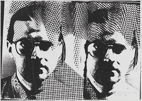 Bruno Munari, Xerografia originale, 1991, Xérographie 29,2 x 42,2 cm. Don de Mme Nicoletta Gradella et M. Luca Zaffarano en 2018. Collection Centre Pompidou, Paris Musée national d'art moderne - Centre de création industrielle. © droits réservésPhoto. © Centre Pompidou, MNAM-CCI/Audrey Laurans/Dist. RMN-GP.