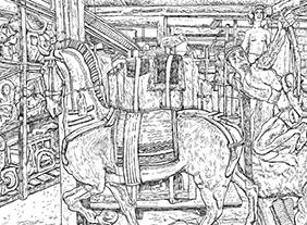 """🔊 """"Musées dessinés – Christelle Téa"""" au musée Cognacq-Jay, Paris, du 9 septembre 2021 au 2 janvier 2022"""