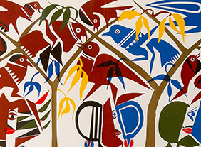 """🔊 """"Lumières du Liban"""" Art moderne et contemporain de 1950 à aujourd'hui, à l'Institut du monde arabe, Paris, du 21 septembre 2021 au 2 janvier 2022"""