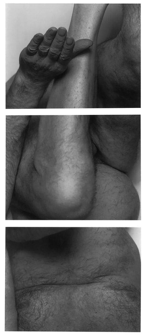 John Coplans, Upside Down No.1, 1992. © The John Coplans Trust.