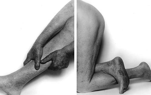 John Coplans, Body Parts, No. 8, 2001. © The John Coplans Trust.