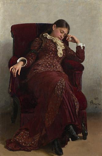 Ilya Répine, Repos, 1882. Huile sur toile. © Galerie nationale Trétiakov, Moscou.