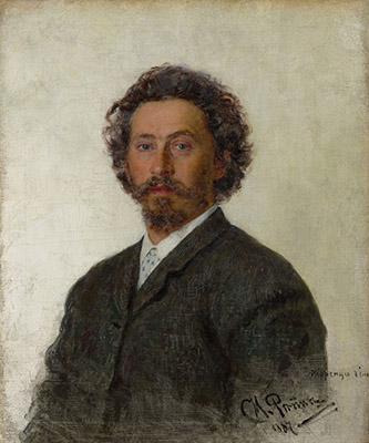Ilya Répine, Autoportrait, 1887. Huile sur toile. © Galerie nationale Trétiakov, Moscou.