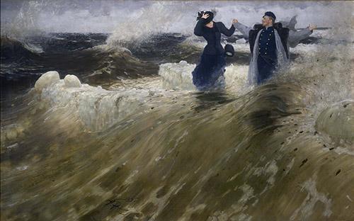 Ilya Répine, Quelle liberté !, 1903. Huile sur toile. © Galerie nationale Trétiakov, Moscou.