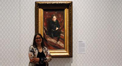 Interview de Stéphanie Cantarutti, conservatrice en chef des peintures du XIXe au Petit Palais, et co-commissaire de l'exposition, par Anne-Frédérique Fer, à Paris, le 4 octobre 2021, durée 16'59. © FranceFineArt.