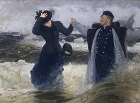 """🔊 """"Ilya Répine (1844-1930)"""" Peindre l'âme russe, au Petit Palais, Paris, du 5 octobre 2021 au 23 janvier 2022."""